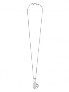 Herzengel HEN-HEARTWING Mädchen Collier Herz Herzflügel Silber 40 cm