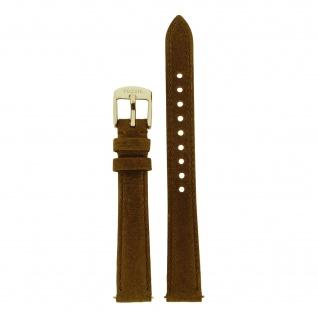 Fossil Uhrenarmband LB-ES3708 Original Ersatzband Leder 14 mm Braun