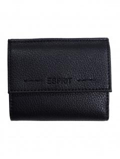 Esprit Damen Geldbörse Portemonnaies Lea S wallet Schwarz 019EA1V006
