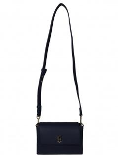Tommy Hilfiger Damen Handtasche Tasche TH Modern Crossover Blau
