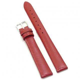 Condor Uhrenband 19241-12-60 Ersatzarmband 12 mm Rindnappa rot