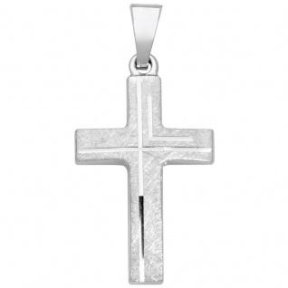 Basic Silber SKE21 Kinderschmuck Anhänger Kinder Kreuz Silber - Vorschau 1