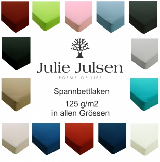 Julie Julsen® Jersey Spannbetttuch 125 gm2