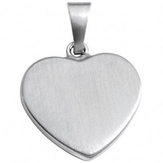 Basic Silber SL25 Damen Anhänger Herz Silber