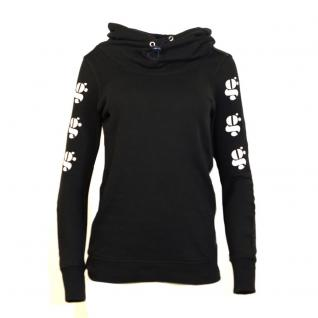 G-Star Damen Pullover Kapuze Pulli Menya Hooded Sweater Schwarz Gr. L
