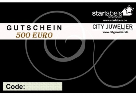 Geschenk Gutschein 500 Euro
