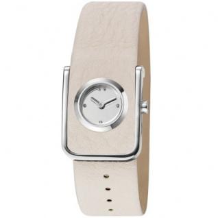 Esprit ES106672001 belt white Uhr Damenuhr Lederarmband weiss