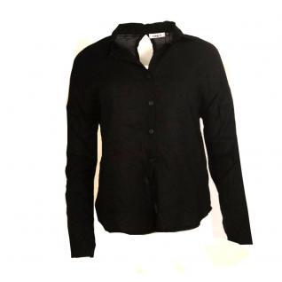 Only Damen Bluse Damenbluse LANTA L/S Shirt WMN Schwarz Gr. 38