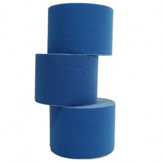 1 Rolle Kinesiologie Tape 5 m x 5, 0 cm dunkelblau