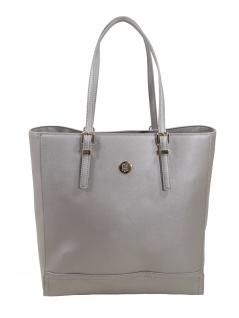 Tommy Hilfiger Damen Handtasche Tasche Honey Workbag Grau AW0AW07581