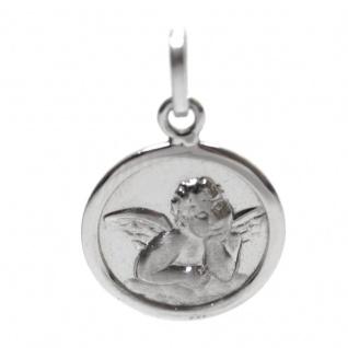 Basic Silber STG38 Kinder Anhänger Schutzengel Silber