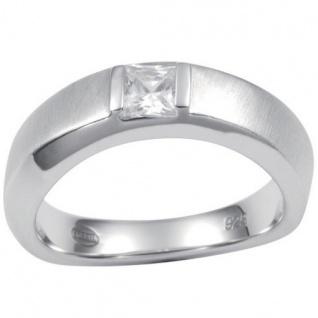 Fossil JF14631 Damen Ring JF 14631 Silber mit Zirkonia weiß Größe 56 (18, 0 mm)