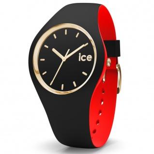 Ice-Watch 007225 Ice loulou black gold small Uhr Damenuhr schwarz