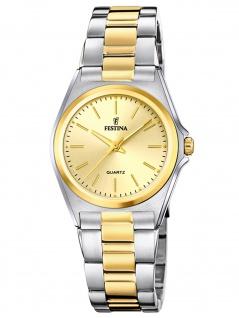 Festina F20556/3 Uhr Damenuhr Edelstahl bicolor