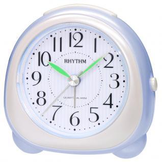 RHYTHM CRE814NR04 Wecker Uhr Alarm Weiss