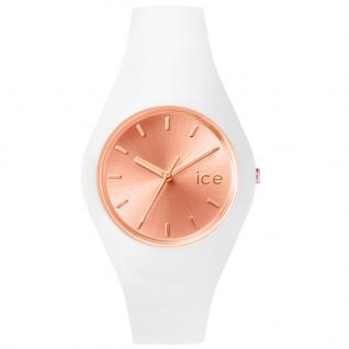 Ice-Watch ICE.CC.WRG.U.S.15 ICE CHIC White Rose Gold Uhr Damenuhr weiß