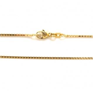 Basic Gold Unisex-Erwachsene Venezianer Kette 14 Karat Gelbgold 50 cm