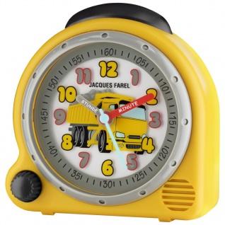 JACQUES FAREL AVC07DUMP-G Lastwagen Kipper Wecker Junge Alarm gelb