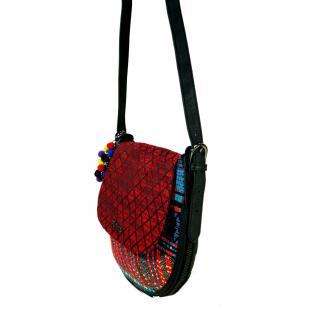 Desigual Bols Genova Togo Rot Blau 17WAXPNR Handtasche Tasche - Vorschau 2