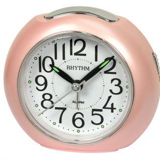 RHYTHM CRE872NR13 Wecker Uhr Alarm Weiss
