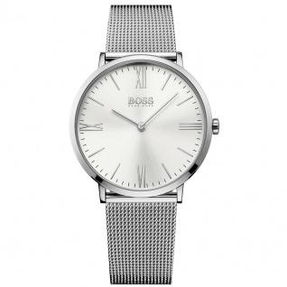 Hugo Boss 1513459 Slim Ultra Jackson Uhr Herrenuhr Edelstahl silber