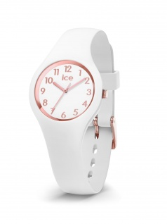 Ice-Watch 015343 ICE glam white rose gold numbers extra small Uhr Weiß