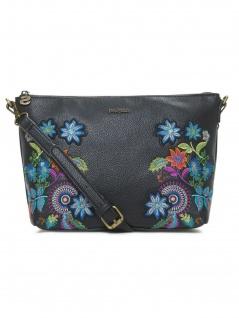 Desigual Damen Handtasche Tasche Schultertasche MAVI CATANIA Schwarz