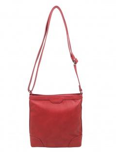 Esprit Damen Tasche Schultertasche Agnes Stripe M Rot 010EA1O325-630