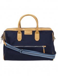 Esprit Damen Handtasche Tasche Wochenendtasche Cheryl Weekender Blau