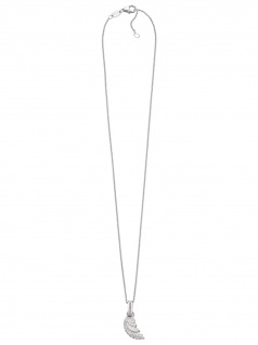 Herzengel HEN-WING Mädchen Collier Flügel Silber 39, 5 cm