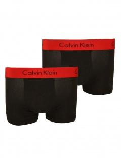Calvin Klein Herren Boxershort 2er Pack Trunk S Schwarz NB1463A