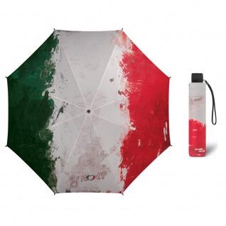 Y Not Super Mini paint flag ITALY Regenschirm Taschenschirm