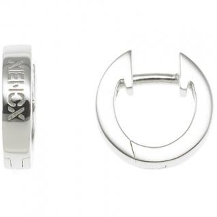XENOX XS8541 Damen Creolen Modern Classic Silber