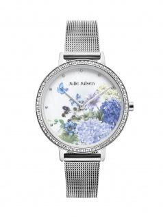 Julie Julsen JJW71SME Limited Edition Secret-Garden Uhr Silber - Vorschau 1