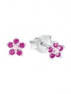 Prinzessin Lillifee 2021171 Mädchen Ohrstecker Blume Silber Pink