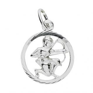 Basic Silber 24.9019SSCH Damen Anhänger Sternzeichen Schütze Silber