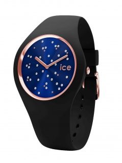 Ice-Watch 016294 ICE cosmos Star Deep blue Medium Uhr Damenuhr Schwarz