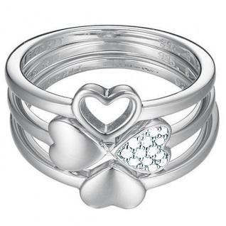 Esprit ESSE91014A Damen Ring esprit-jw50026 Silber weiß 53 (16.9)