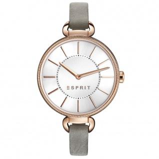 Esprit ES108582002 esprit-tp10858 grey Uhr Damenuhr Lederarmband grau