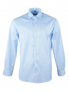 Eterna Herren Hemd Langarm Modern Fit XL/44 Blau 8817/10//X18K