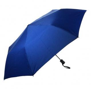 Flash MINI AC Flash solid Royalblau Regenschirm Taschenschirm - Vorschau 2