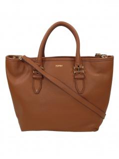 Esprit Damen Handtasche Tasche Henkeltasche Nina City Bag Braun