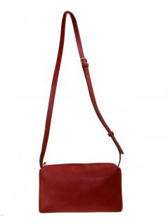Esprit Damen Handtasche Tasche Schultertasche Tori small bag Leder Rot - Vorschau 3