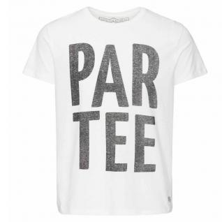 Jack & Jones Herren T-Shirt PAR Tee Crew Neck Weiß Gr. XL 12093231