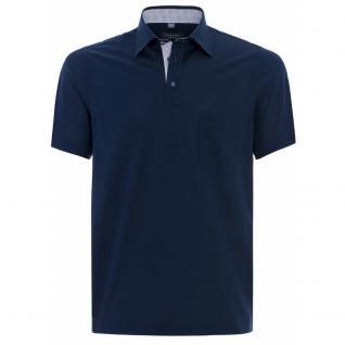 Eterna Herren Comfort Fit Poloshirt Piqué Dunkelblau XXXXL/52 2203/18