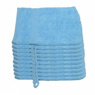 10 er Set Julie Julsen® Waschhandschuhe 15 cm x 21 cm - Vorschau 5