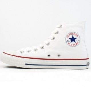 Converse Herren Schuhe All Star Hi Weiß M7650C Sneakers Chucks 44, 5
