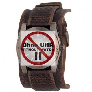 Fossil Uhrband LB-JR9040 Ersatzband Leder 20 mm Braun