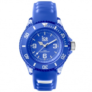 Ice-Watch ICE aqua Amparo Small Uhr Damenuhr Silikon blau