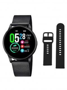 Lotus 50002/1 Smartime Smart Watches Herrenuhr Edelstahl Datum Schwarz